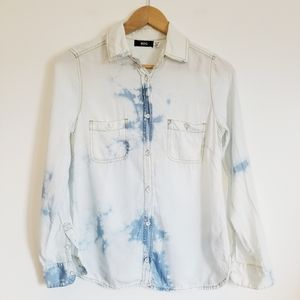 Urban Outfitters BDG tencel acid wash button down